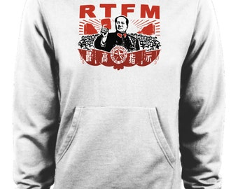 The IT Crowd - RTFM Chairman Mao Roy Hoodie