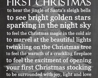 Baby First Christmas Quotes. QuotesGram