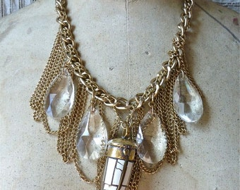 Crystal Claw Necklace