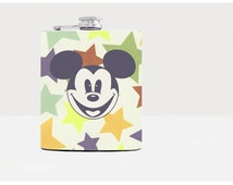 Mickey Mouse Flask for Women Bridesmaids gifts Womens Birthday gift Drinking gifts for her Mickey Mouse Wedding Favor Gift ideas For Her