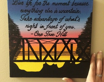 ONE TREE HILL sorority painting