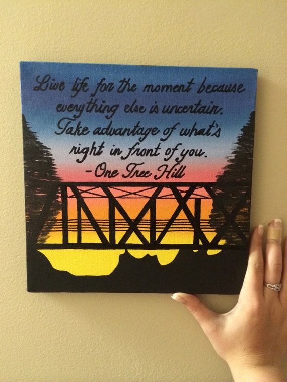 Graduation Quotes: ONE TREE HILL Sorority Painting