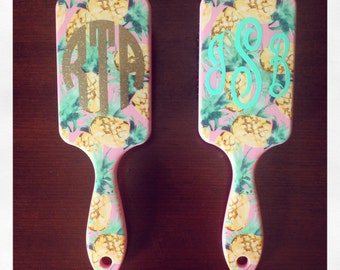 Personalized Hair Brush {Pineapple}