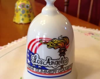 Commemorative 1984 Los Angeles Summer Olympic Games Bell
