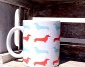 Coffee Mug: Dachshunds
