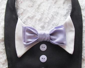 Dog Tux Bib Choose Your Wedding Colors Small, Medium, Large , X-Large, XX-Large, Xxx-Large, or Xxxx-Large