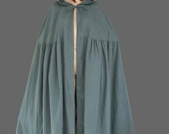 Hooded cloak, available in multicolour