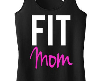 FIT MOM Workout Tank Racerback