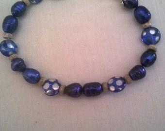 Sea Blue Spot Bracelet