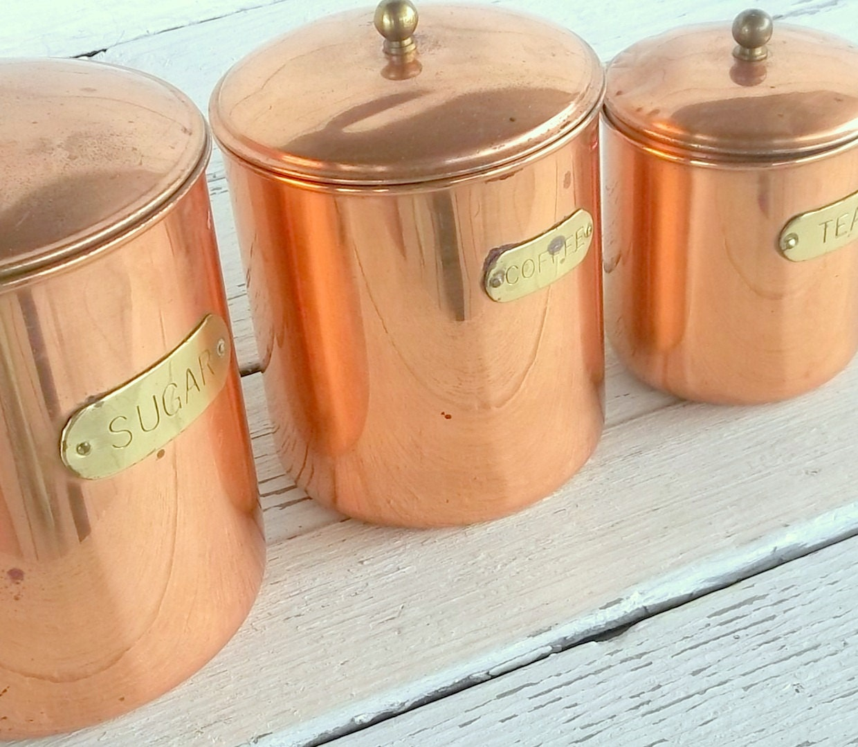 vintage kitchen canister daewoo set of 3 decoware nesting