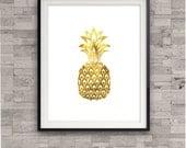 Pineapple Gold Art