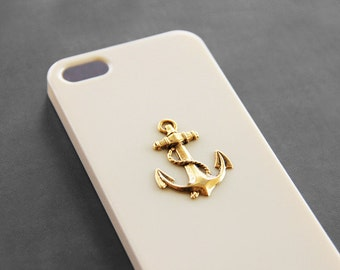 Beige Anchor Case iPhone 5s Anchor iPhone 5c Anchor Case iPhone 7 Anchor Case iPhone 7 Plus Anchor Case Anchor Phone Case Beige Ivory