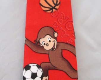 Baby Boy/ Toddler Curious George Tie.  It will fit a baby to a 2 year old.