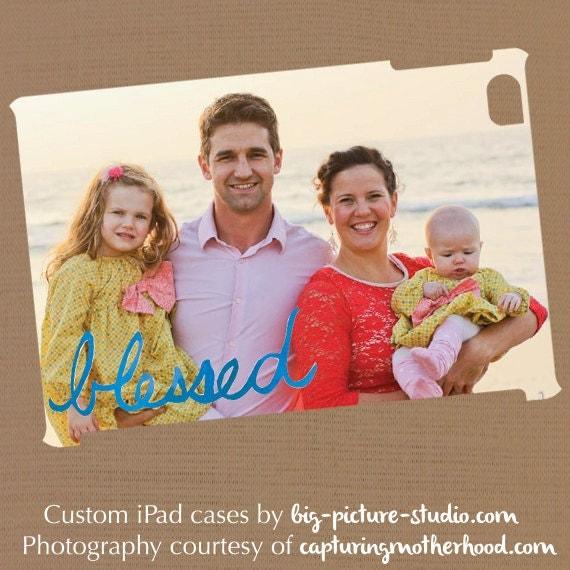 BLESSED: Custom Photo iPad Mini Snap-On Case