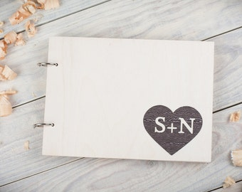 Guest Book Ideas, Wedding Guest Book, Guest Book, Custom Guest Book, Wedding Guestbook, Wood Guest Book, Rustic Guest Book, Heart Guest Book