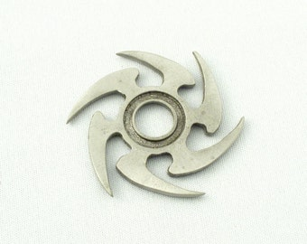 5 Ninja Star Charms - See Photos for Different Finish Options
