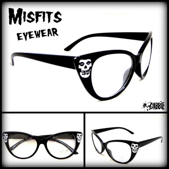 eb48642956a Misfits Eyewear Punk Rock Vintage Retro Cat by GabbieCustomArt. Sunglasses  Prescription ...