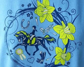 In The Ribbons, youth horse tee