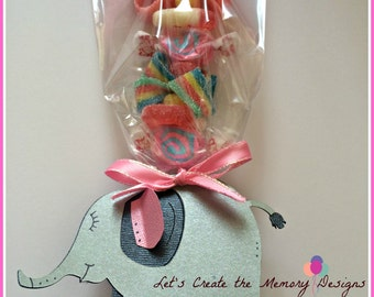 Elephant theme....Candy Kabob,  Party Favor, Skewers Sticks, Candy Centerpiece