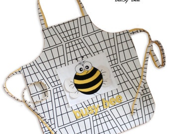 Children's Apron - PDF Sewing PATTERN - Busy Bee Design **special OFFER