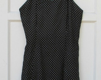 Womens Vintage Polka Dot Dress