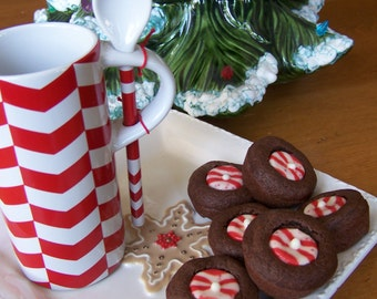 Chocolate Candy Cane Cookie - 1dz