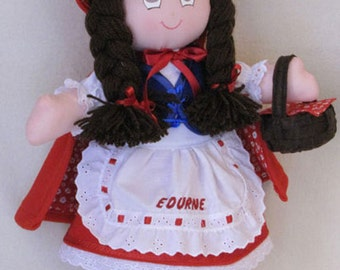 Little Red Riding Hood rag doll