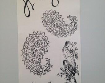 Flourishes and Paisleys Style 3