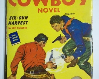 Complete Cowboy Novel No. 3 Vol. 9 February 1950 Western Pulp Magazine