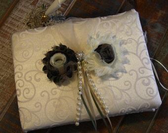Wedding Guest Book, YOU CHOOSE COLOR, Bridal accessory, Wedding Accessory, Guest Book