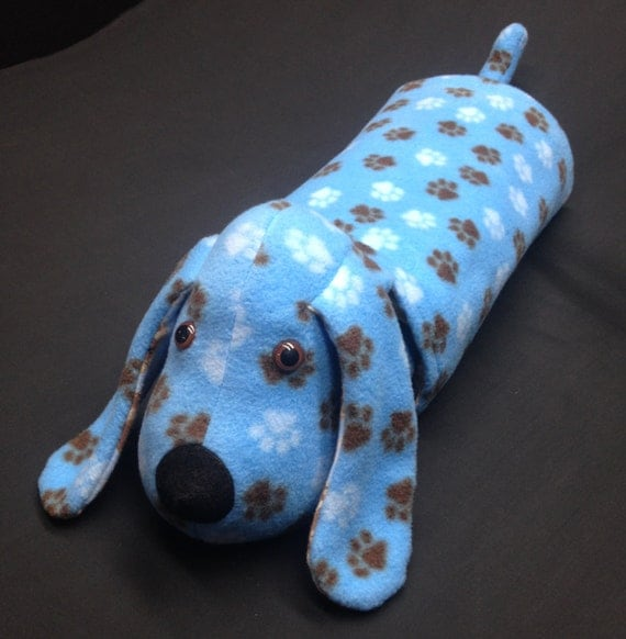 Snuggle Puppy blanket / pillow / stuffed animal in lt blue