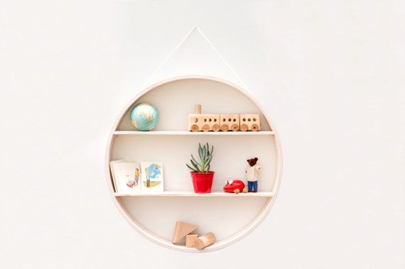 ... wall hanging plywood shelf furniture wood round wall art modern chic