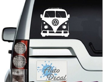 VW Camper Van Vinyl Car, Van, 4x4 Decal / Sticker / Graphic