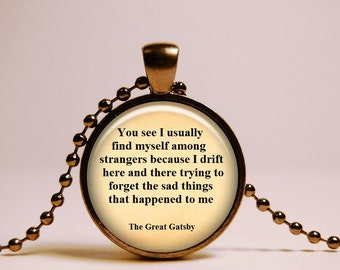 Popular Items For Great Gatsby Quote On Etsy