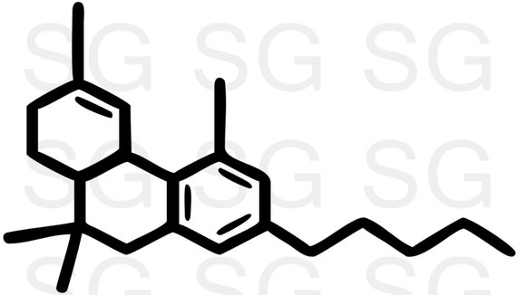 Items Similar To Bogo Free Thc Medical Marijuana Molecule