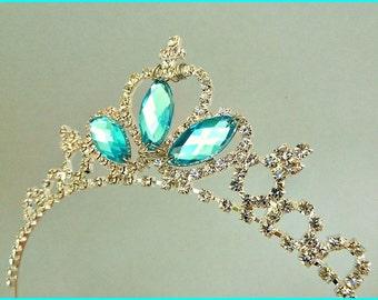 CINDERELLA RHINESTONE TIARA , Cinderella Crown, Cinderella Party ,Cinderella Tiara, Princess Tiara, Princess Rhinestone crown