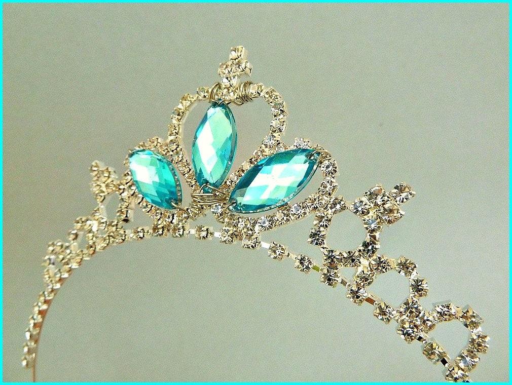 FROZEN ELSA CROWN Kids Stone crown Elsa CostumeElsa Tiara