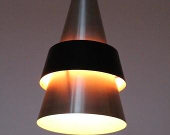 18 in. SWEDISH CHANDELIER PENDANT lamp from  Denmark vintage mid century retro 1960 era