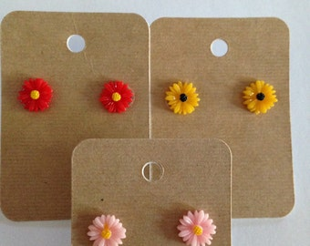 Pretty Flower Earrings!!