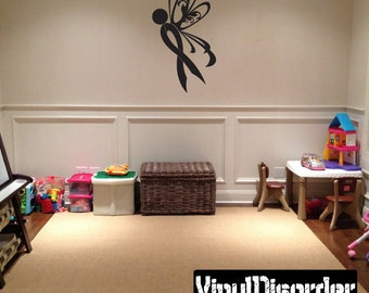 Ribbons Vinyl Wall Decal Or Car Sticker - Mvd014ET