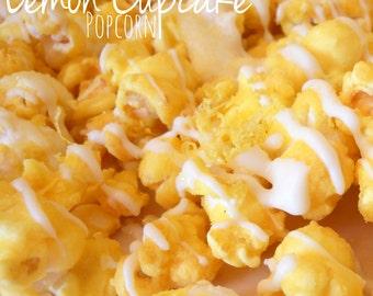 Gourmet Lemon Cupcake Popcorn