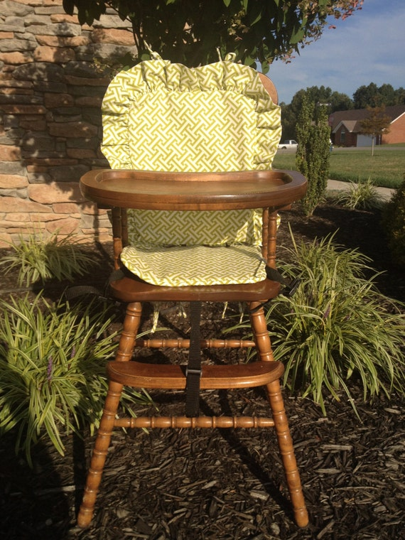 wooden high chair cover honeydew cross section by