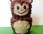 Items Similar To 3D Origami Monkey On Etsy