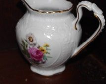 Gorgeous Royal Danube Cream Pitcher With an Attrctive Floral Design