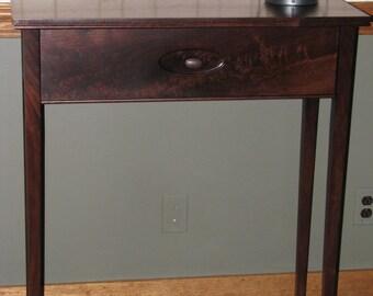 Black Walnut Entry Table