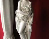 AUTUMN - A marble Statuette after the antique by Carrier Belleuse, French 1850.