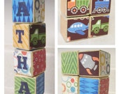 Custom Toddler or Baby Blocks // 6 Blocks // Custom Boy or Girl Theme // Great for Gifts