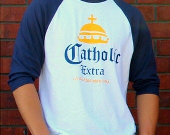 Catholic Extra Jersey T-shirt