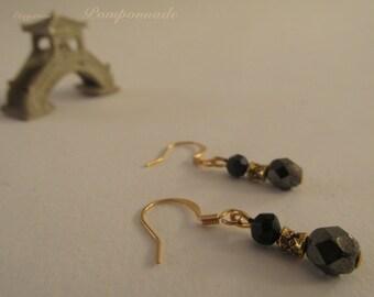 2713 - Earrings Czech Glass