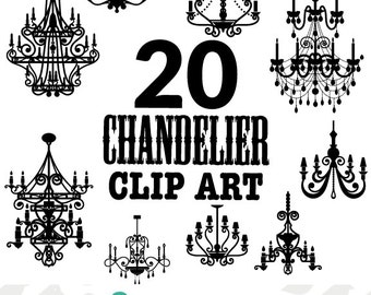 French chandelier clip art cliparts french chandelier clip art mozeypictures Choice Image